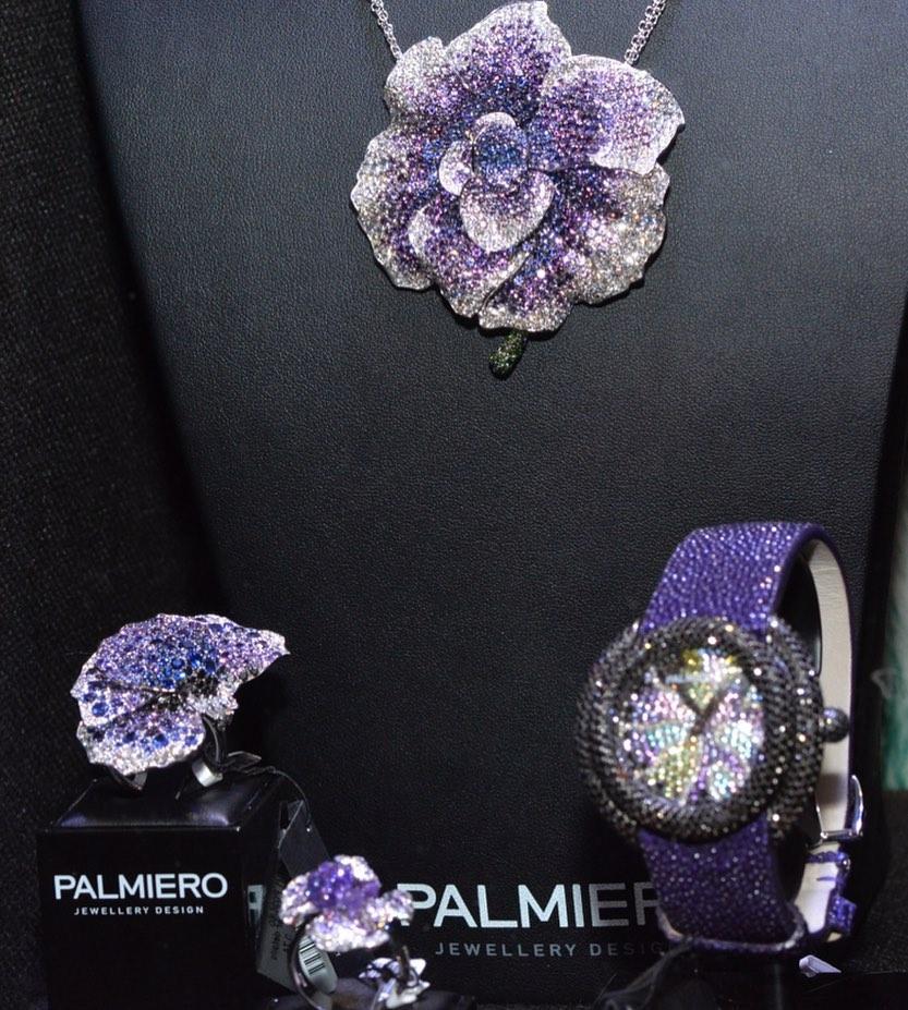 El encanto de una brillante amapola lograda por Palmiero